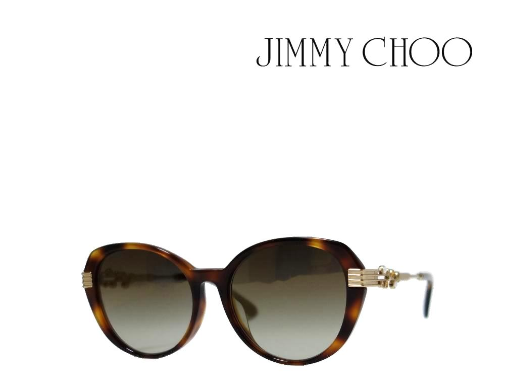 【JIMMY CHOO】 ジミーチュー サングラス ORLY/F/S 086 ハバナ/ゴールド 国内正規品