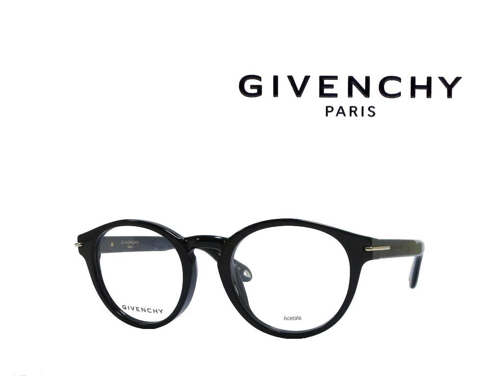 【GIVENCHY】 ジバンシィ メガネフレーム  GV0022/F  807  ブラック  国内正規品