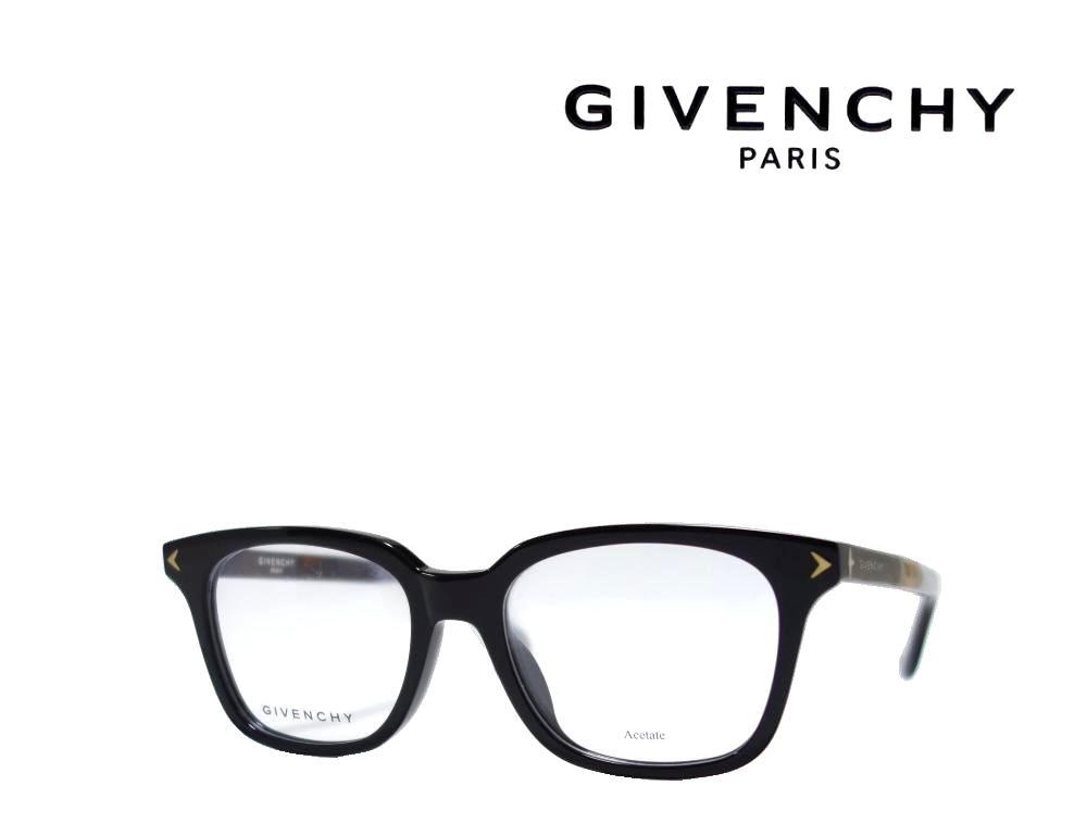 【GIVENCHY】 ジバンシィ メガネフレーム  GV0068/F  WR7  ブラック アジアンフィット  国内正規品 《数量限定特価品》