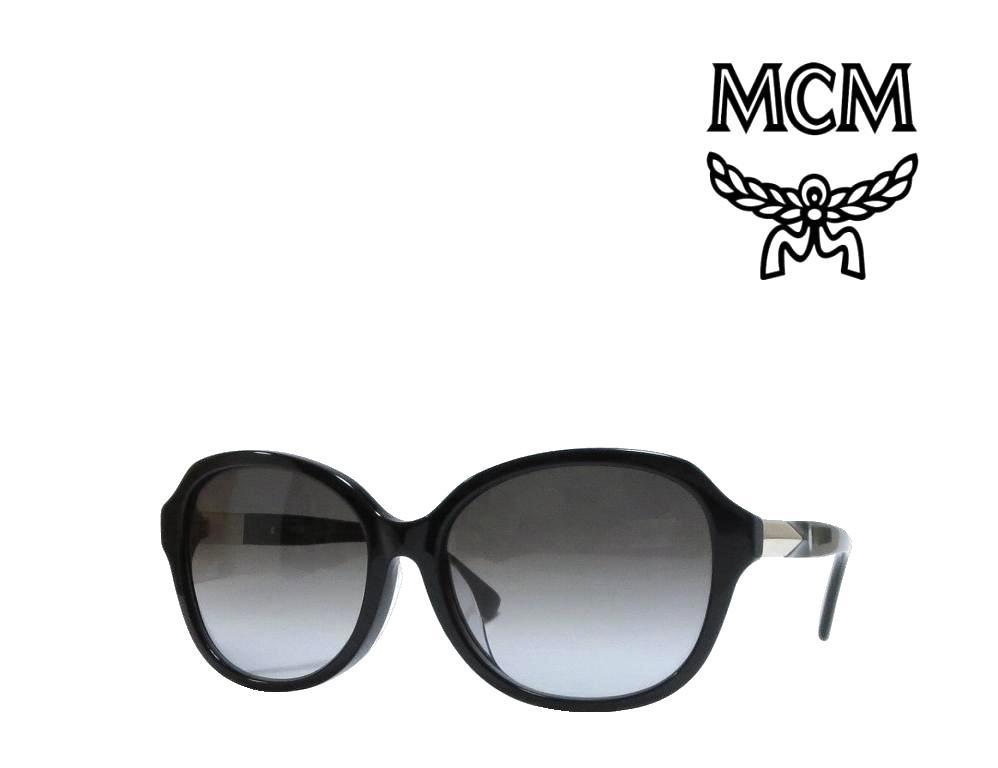 【MCM】 エムシーエム サングラス  MCM618SA  001   ブラック  アジアンフィット  国内正規品