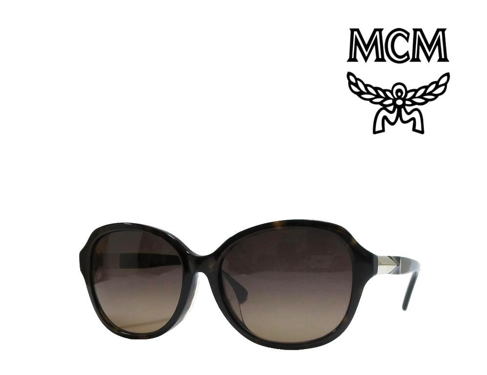 【MCM】 エムシーエム サングラス  MCM618SA  214   ハバナ  アジアンフィット  国内正規品
