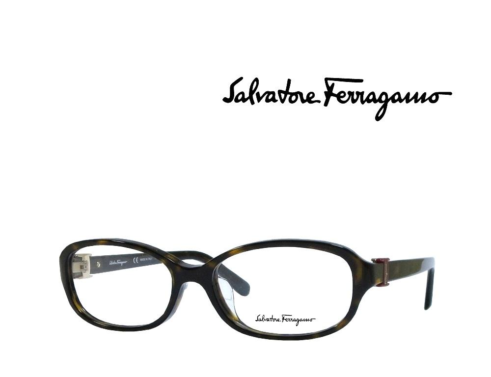 【Salvatore Ferragamo】サルヴァトーレ フェラガモ メガネフレーム   SF2769A  214  ハバナ  国内正規品