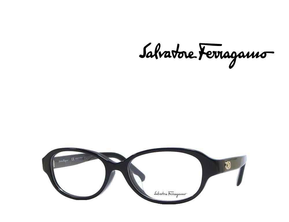 【Salvatore Ferragamo】サルヴァトーレ フェラガモ メガネフレーム  SF2794A   001  ブラック  国内正規品 《数量限定特価品》