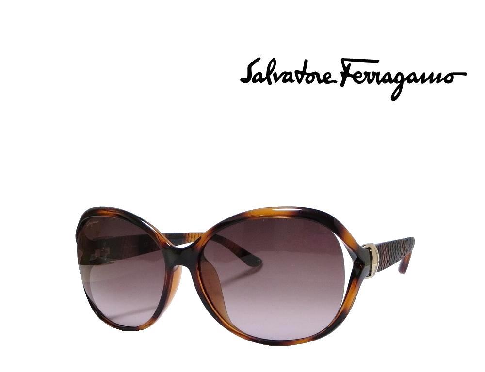 【Salvatore Ferragamo】サルヴァトーレ フェラガモ サングラス SF770SA 214  トータス  国内正規品