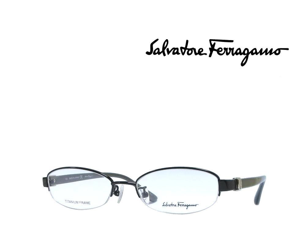 【Salvatore Ferragamo】サルヴァトーレ フェラガモ メガネフレーム  SF2503J   001  ブラック  国内正規品  《数量限定特価品》