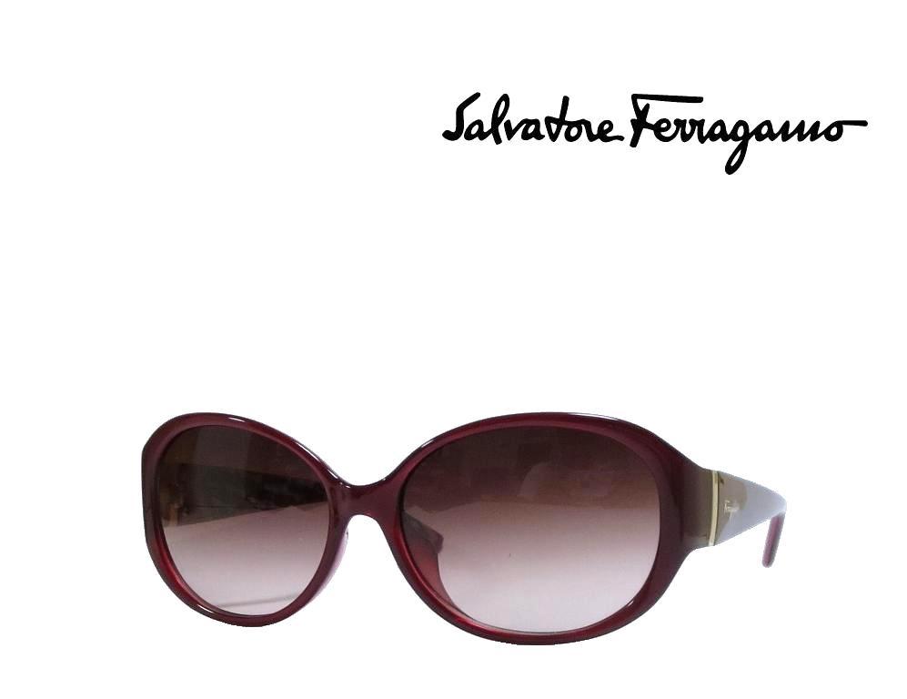 【Salvatore Ferragamo】サルヴァトーレ フェラガモ サングラス SF683SA  624 パールレッド  アジアンフィット 国内正規品