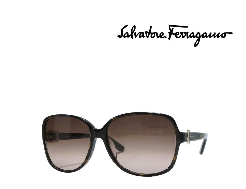 【Salvatore Ferragamo】サルヴァトーレ フェラガモ サングラス SF615SA  214  トータス  アジアンフィット 国内正規品 《数量限定特価品》