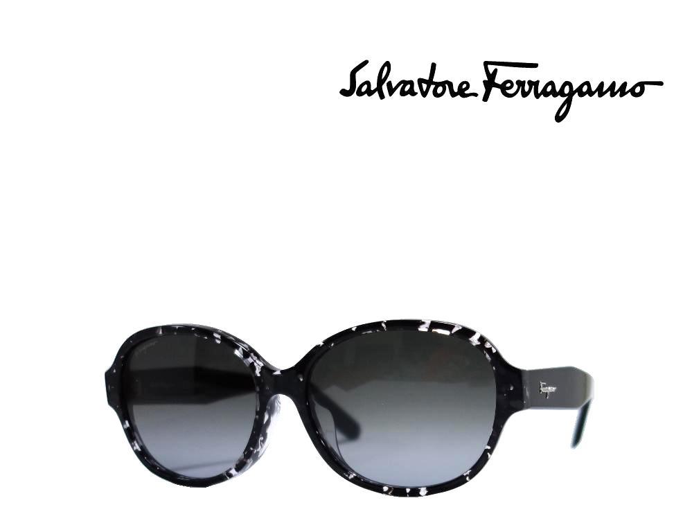 【Salvatore Ferragamo】 サルヴァトーレ フェラガモ サングラス  SF885SA  006  ブラックハバナ  アジアンフィット 国内正規品 《数量限定特価品》