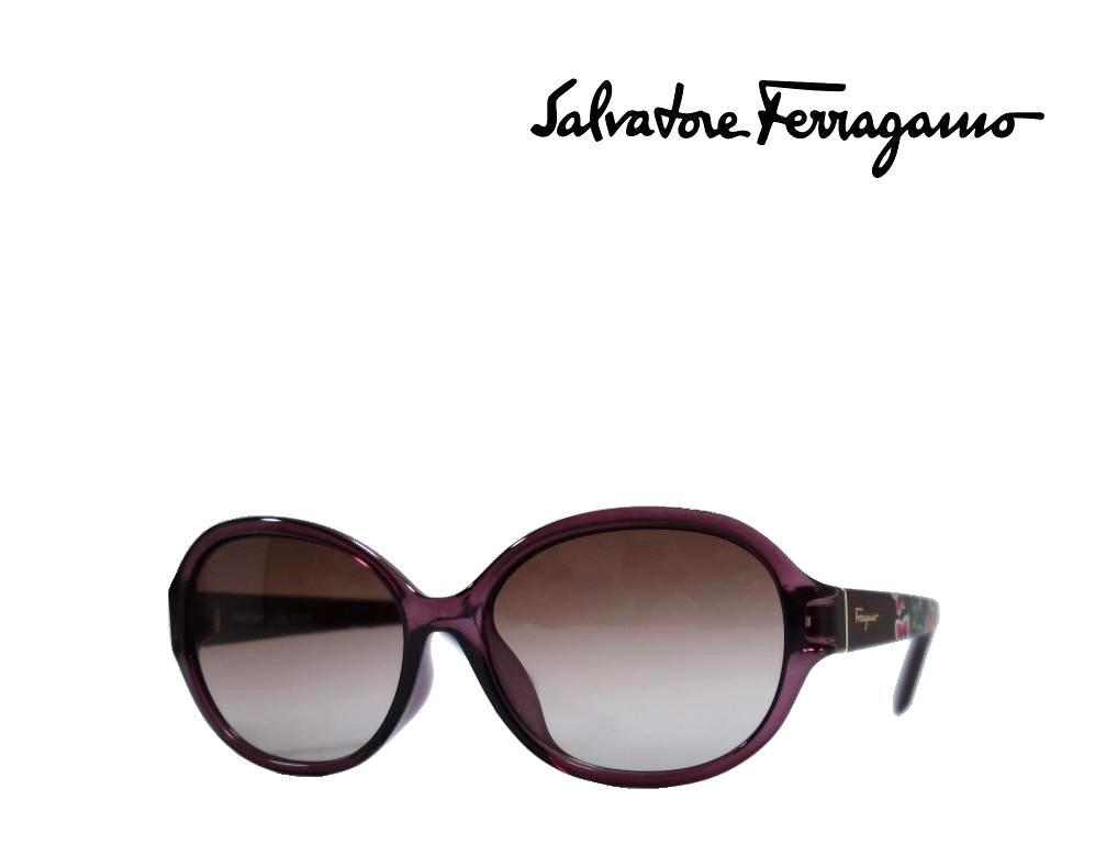 【Salvatore Ferragamo】サルヴァトーレ フェラガモ サングラス SF6918A  606  ワイン  アジアンフィット 国内正規品 《数量限定特価品》