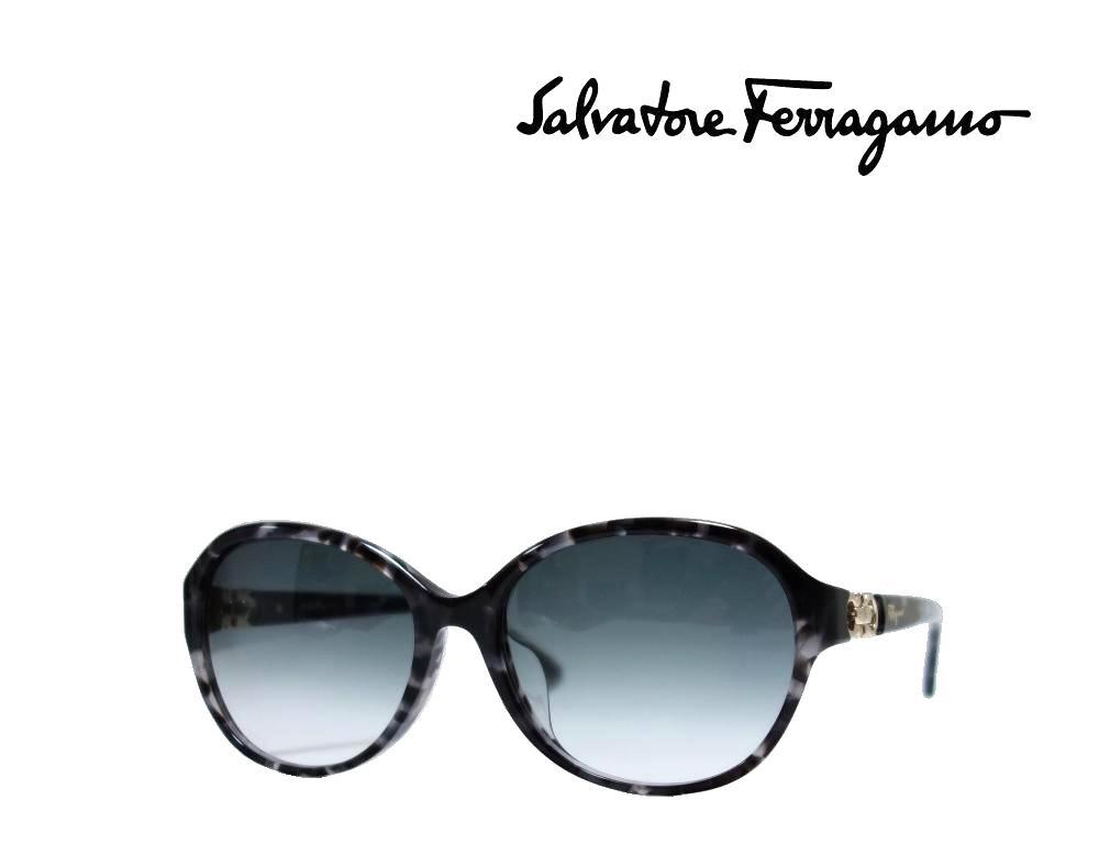 【Salvatore Ferragamo】 サルヴァトーレ フェラガモ サングラス SF804SA  052  グレーハバナ  国内正規品