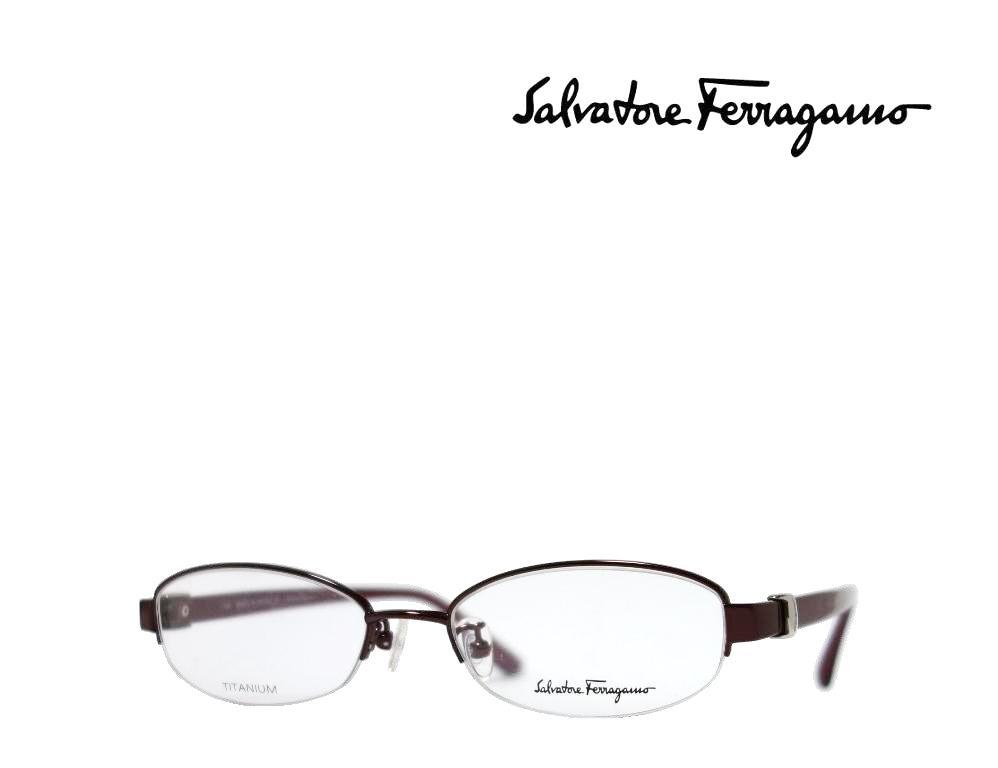 【Salvatore Ferragamo】サルヴァトーレ フェラガモ メガネフレーム  SF2503J   603  ワイン  国内正規品  《数量限定特価品》