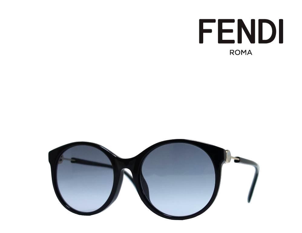 【FENDI】 フェンディ サングラス FF0362/F/S 807  ブラック アジアンフィット 国内正規品