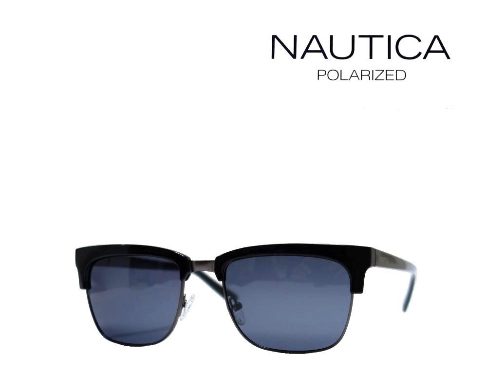 【NAUTICA】 ノーティカ サングラス N3631SP 001  ブラック・マットガンメタル 偏光レンズ 国内正規品