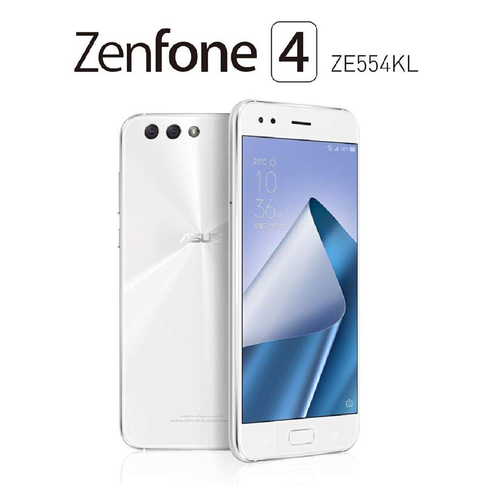【新品・未開封品】 SIMフリー スマホ 本体 ASUS Zenfone 4 5.5 ZE554KL ブラック シルバー(シムフリー 3GB/32GB 台湾版) 【白ロム】