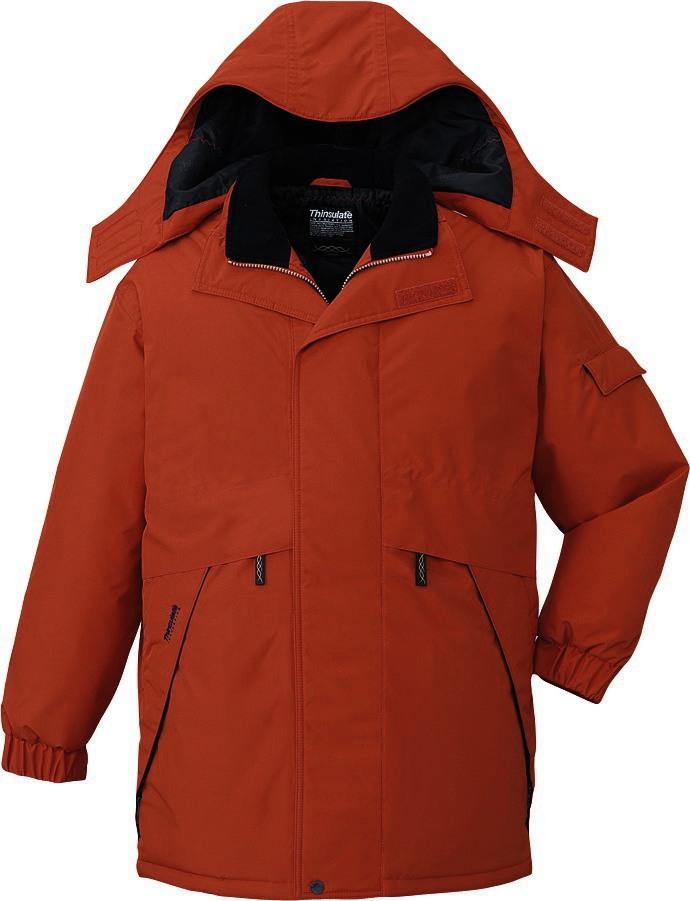 作業服 防寒コート ハーフコート 防水 シンサレート 自重堂 48343 ブリック 大きいサイズ 4L 5L 作業着 ビッグサイズ BIG 冬用