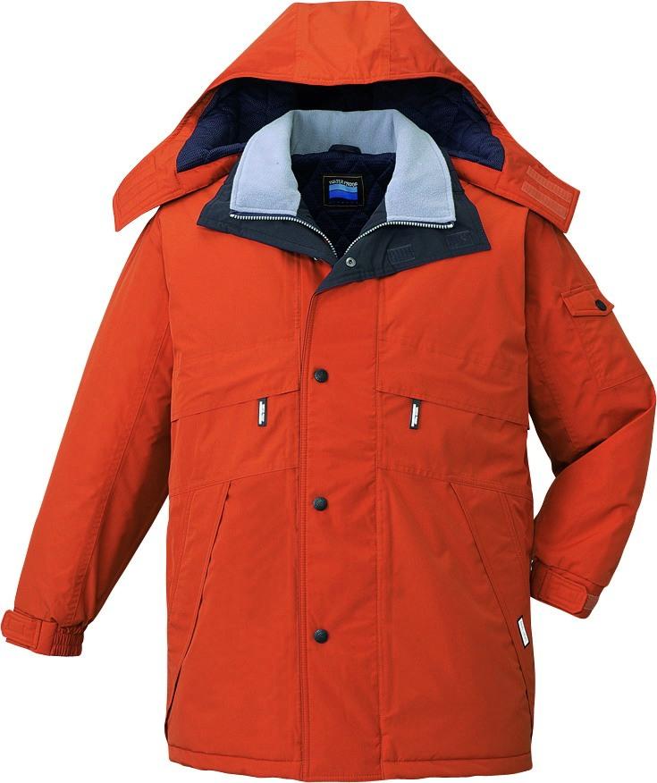 作業服 防寒コート 防水 シンサレート 自重堂 48233 ブリック 作業着 冬用