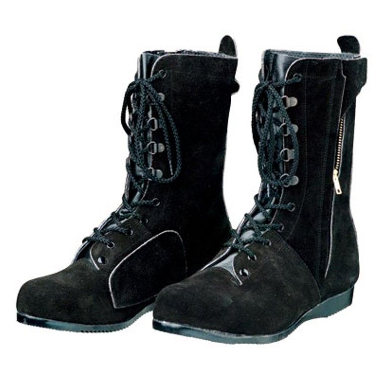 安全靴 DONKEL ドンケル 高所作業用 長編上靴 T-7 ベロアチャック付 セーフティーシューズ 送料無料