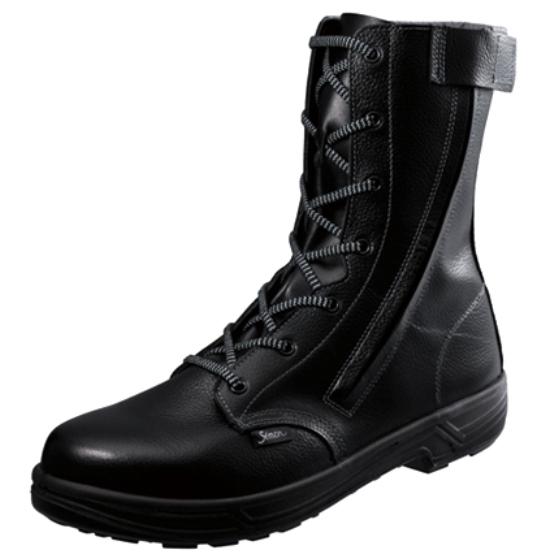 安全靴 Simon シモン シモンスター ハイカット 長編 外チャック付 大きいサイズ 29cm SX3層底 SS33 C付 送料無料