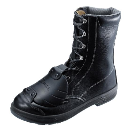 樹脂製の甲部プロテクタを搭載 安全靴 Simon シモン 甲プロテクタ ハイカット S級適合 JIS SX3層底 長編 送料無料 限定価格セール SS33樹脂甲プロD-6 人気 おすすめ