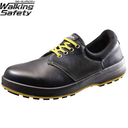 静電安全靴 Simon シモン 短靴 ウォーキングセーフティ SX3層底 WS11黒静電靴 セーフティーシューズ