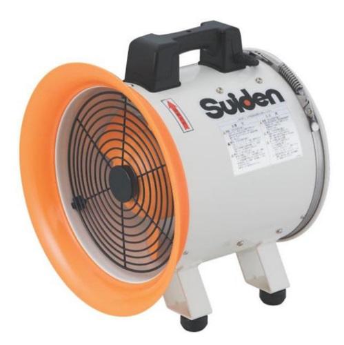 ポータブル型 送風機 送排風機 スイデン SJF-200RS-2 200V 【送料無料】【未使用品】【成田店】