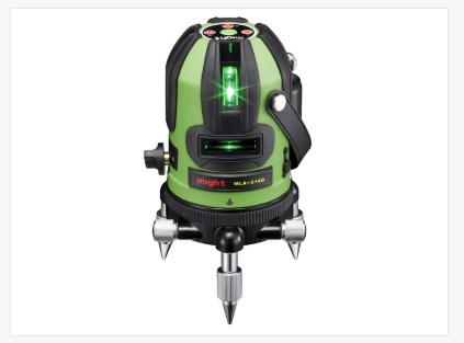 グリーンラインレーザー墨出器 高輝度 MLA-214G マイト工業 受光器付き 【送料無料】【未使用品】【成田店】
