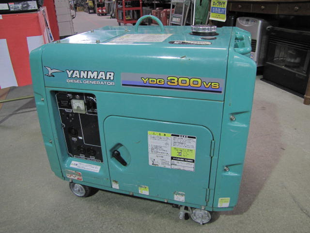 YANMAR air-cooling diesel generator YDG300VS-5E Yanmar