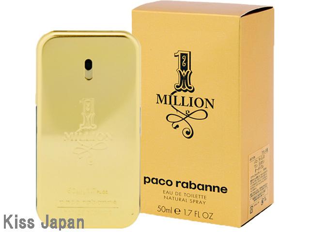 パコラバンヌ PACO RABANNE ワンミリオン 50ml EDT SP 【香水】【あす楽対応商品】【ラッキーシール対応】