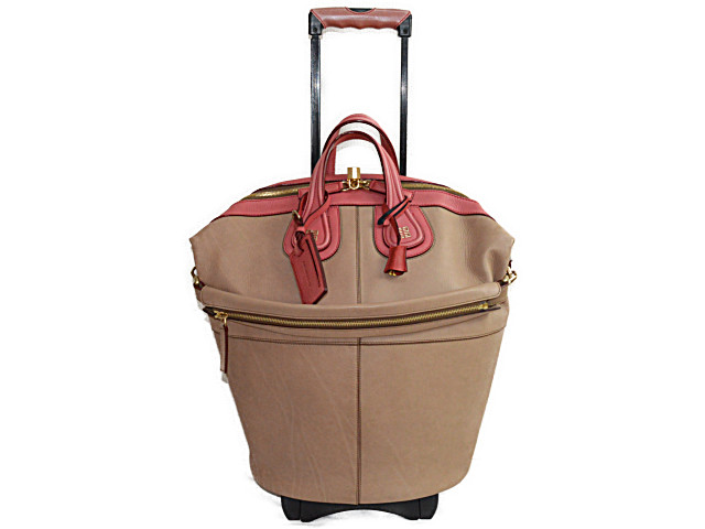 c4f24731a06 ◇It includes a ジバンシィ ◇ super rare nightingale carrier bag trolley by color  leather GIVENCHY tax