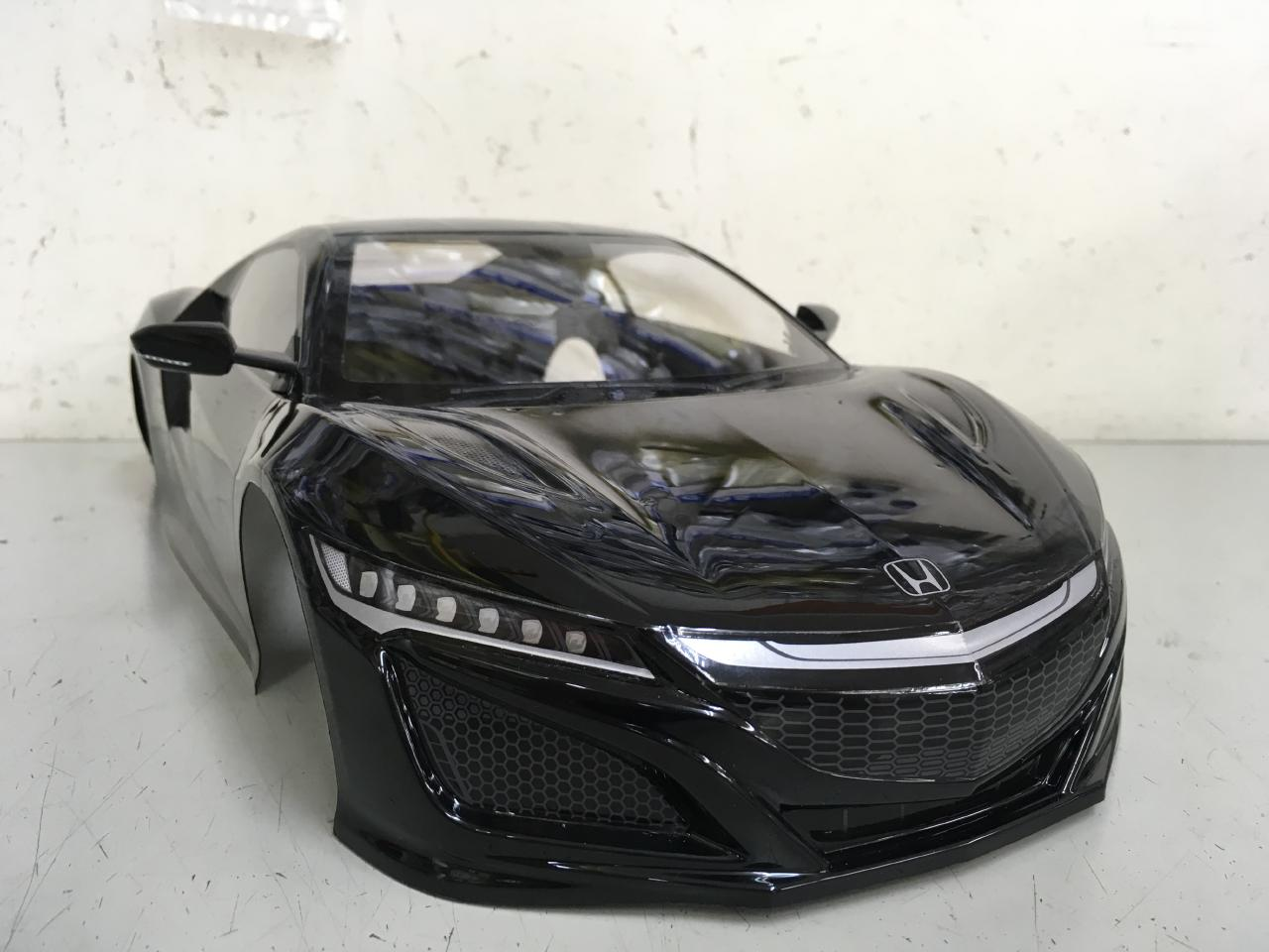 タミヤ 1/10 タミヤ NSX ボディ ブラック カーボン調ルーフ SP-1586