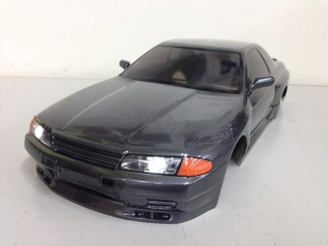 当店オリジナル塗装済みボディ タミヤ NISSAN スカイライン GT-R (R32) SP-1365 LED付き
