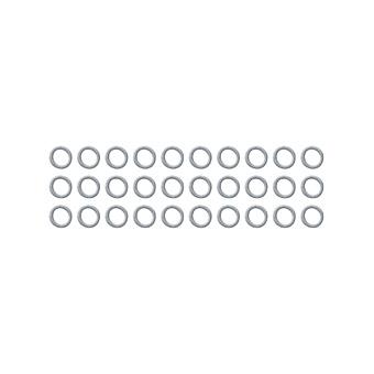 ネコポス発送 送料無料 イーグル 3x4mmセットアップ ステンレスシム 0.2 0.3mm厚 卓抜 0.1 スーパーセール期間限定 各10枚入 #SH3