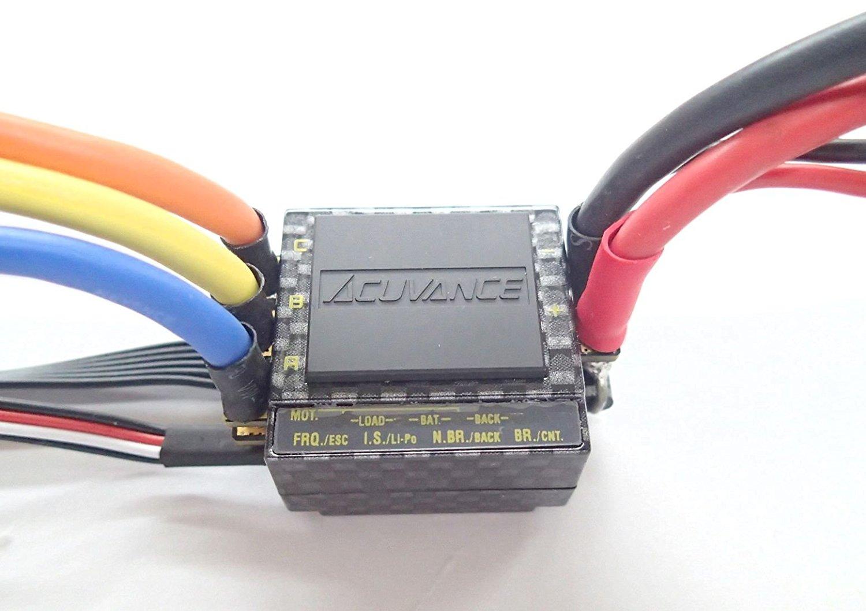 アキュバンス ブラシレスモーター専用RCスピードコントローラー (カーボン) TACHYON CB #60320