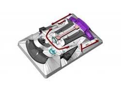 ラジコンパーツ ADDICTION MAZDA RX7FD3S ROKETBUNNY 内装パーツ #AD-PB1-2