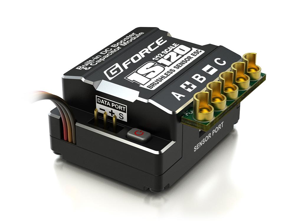 [取寄] GFORCE(ジーフォース) 1S 120A ESC(スピードコントローラー) #G0014