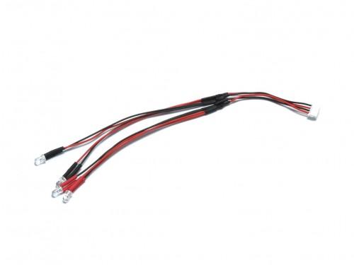 出荷 ネコポス発送 送料無料 取寄 京商 LEDライトユニット MINI-Z Sports用 クリアレッド MZW429R ブランド品