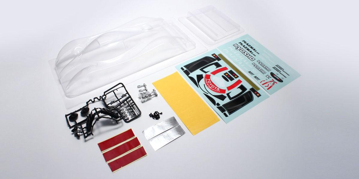 内祝い 同梱包不可 取寄 京商 TOYOTA ノンデコレーションボディセット PZB205 保障 TS-020