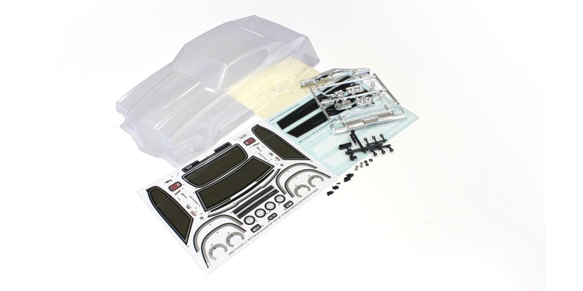 [取寄] 京商 クリアボディセット (1970 シボレー シェベル SS454 LS6) FAB453