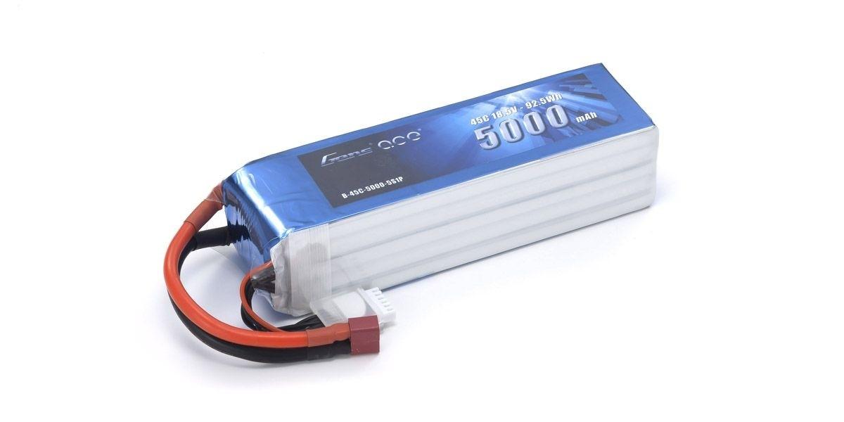 [取寄] 京商 Gens ace LiPo 5000 (45C/18.5V/ソフトパック) GAB2501
