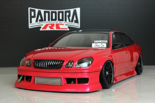 1 10サイズ未塗装ボディ PANDORA RC Toyota JZS161 BN-Sports 記念日 超激安 アリスト PAB-2200