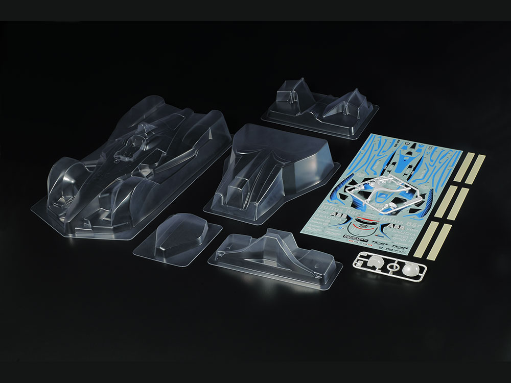 同梱包不可 タミヤ 1 商い 10RC フォーミュラE 51660 贈与 GEN2 ITEM スペアボディセット SP-1660