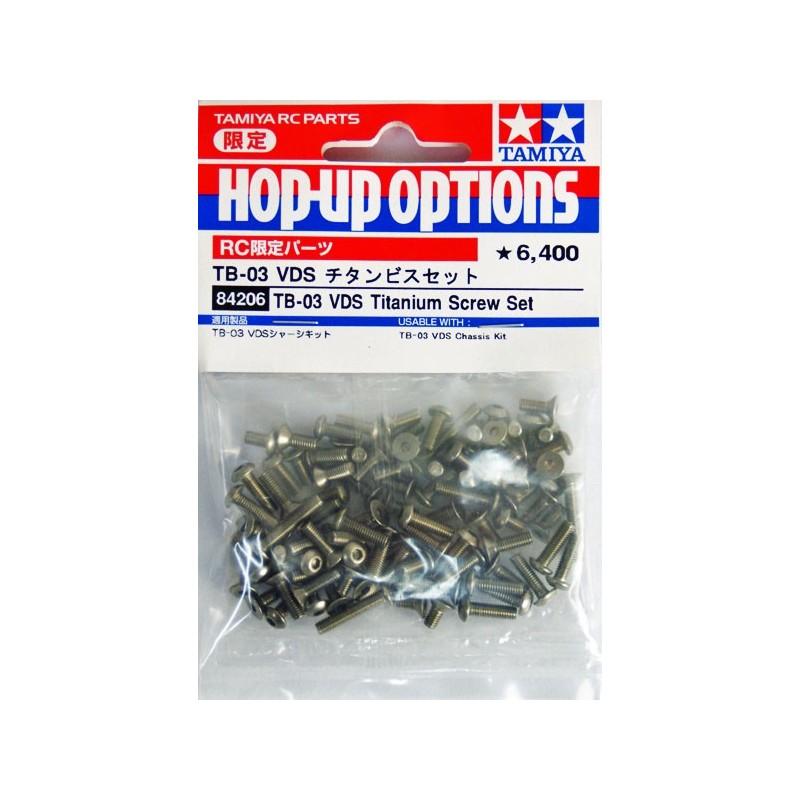 【送料無料】タミヤ TB-03 VDS チタンビスセット 品番84206