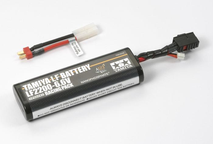 タミヤ Li-Feバッテリー LF2200-6.6V レーシングパック 品番55102