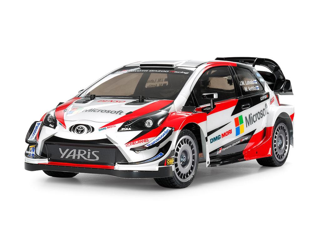 タミヤ 1/10RC トヨタ ガズー レーシング WRT/ヤリス WRC(TT-02シャーシ)#58659