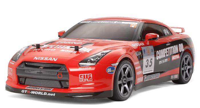 タミヤ MOTUL NISMO GT-R 十勝24時間レース仕様(TA05ver.IIシャーシ) No:58466