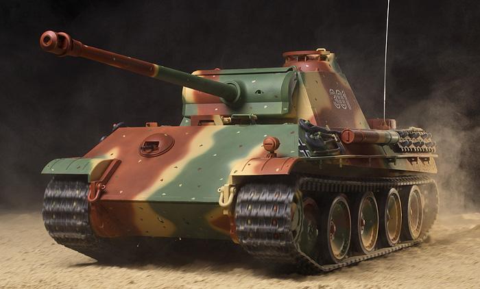 タミヤ 1/16RC ドイツV号戦車 パンサーG型 フルオペレーションセット 品番56021