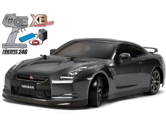 タミヤ XBフルセット 2.4G NISSAN GT-R (TT-01-E) No57779