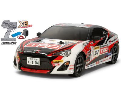 タミヤ XBフルセット GAZOO Racing TRD 86(TT-02シャーシ) #57860