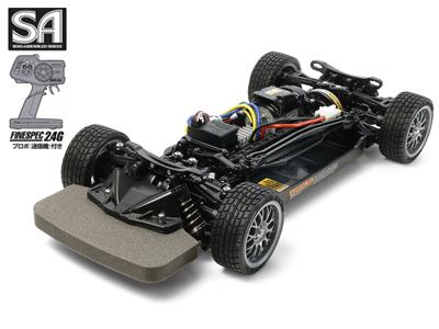 タミヤ 1/10RC SA 4WDレーシングカー 完成シャーシセット (TT-02シャーシ プロポ付) #57984