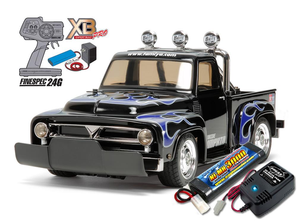 タミヤ XBフルセット 2.4G ローライド パンプキン(M-06シャーシ) +急速充電器・大容量バッテリーセット #2883-2638-57879